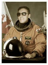 Anthony graduated from the Welsh wing of NASA.