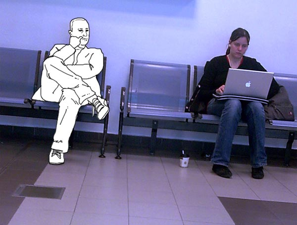 Invisible at Berlin airport